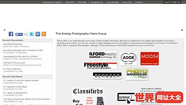 模拟摄影用户组