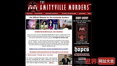 阿米提维尔谋杀案背后的闹鬼的房子里