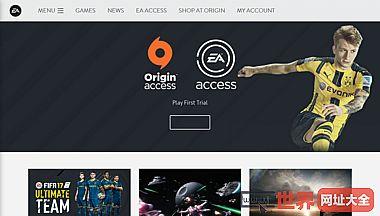 美国艺电游戏公司官网