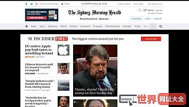 悉尼晨锋报官方网站