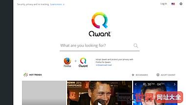 法国Qwant搜索引擎