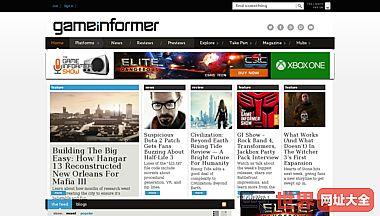 美国GameInformer游戏杂志官网