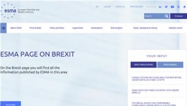 欧洲证券及市场管理局