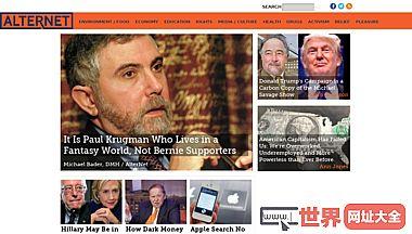 AlterNet另类的新闻和信息