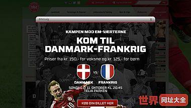 丹麦足球协会官方网站