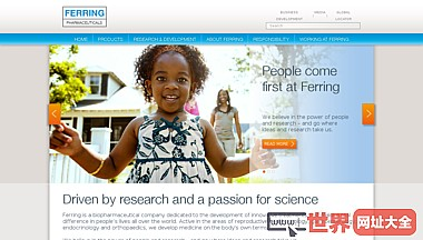 家- Ferring公司网站