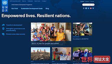 联合国开发计划署官网