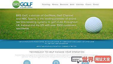 BRS高尔夫–在线高尔夫开球时间预订预订系统