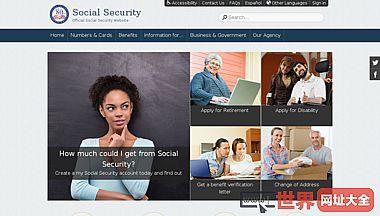 美国社会安全管理局官网