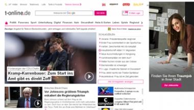 德国T-Online门户网