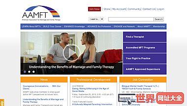 美国婚姻与家庭治疗协会(AAMFT)