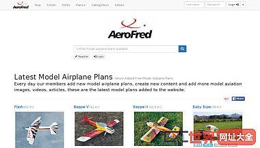 aerofred -模型飞机计划共享