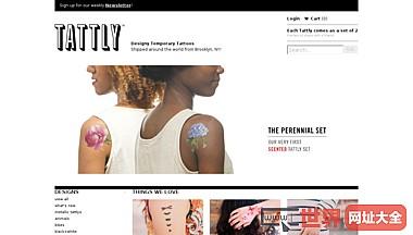 纹身贴纸设计销售平台