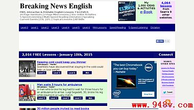 新闻英语新闻:易英语新闻