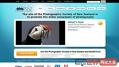 新西兰摄影协会官网