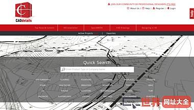 caddetails免费CAD图纸、3D BIM模型、Revit文件