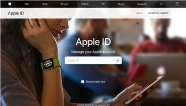 我的 Apple ID