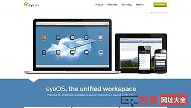 eyeOS Escritorio Virtual Web - Virtualización en HTML5