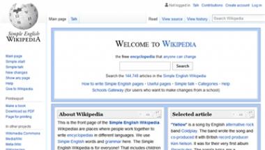 简单英语维基百科