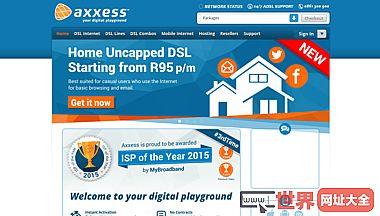 AXXESS纤维网络未覆盖的DSL DSL