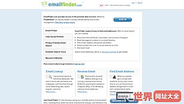 Email Search & Reverse Email Lookup | Email Finder