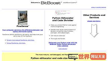 bitboost(又名bitboost Systems)-供应商的Python