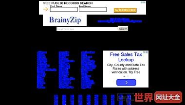 BrainyZip - Zipcode