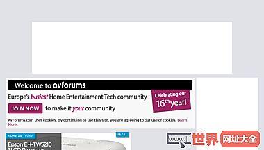 家庭视频娱乐资源和社区AVForums上