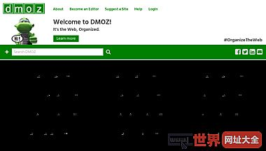 DMOZ网站目录-