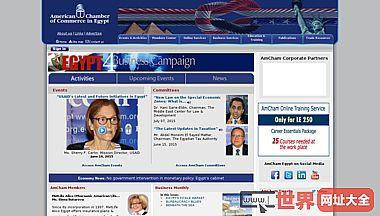美国埃及商会网站-做