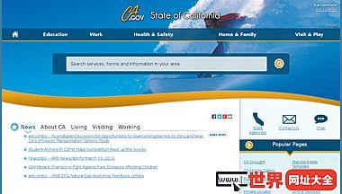 欢迎来到加利福尼亚州门户网站