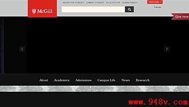 加拿大麦吉尔公立大学官网