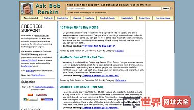 Bob Rankin -免费的技术支持-计算机