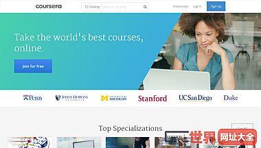 Coursera 官网