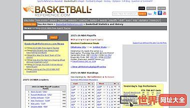 篮球统计和历史