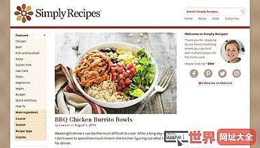 简单食谱烹饪博客