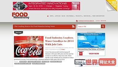 foodmanufacturing.com