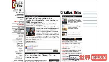 视频编辑、桌面出版系统提示CreativeMac