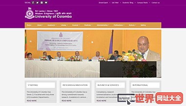 University of Colombo - Official Site