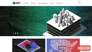 ESRI GIS制图软件解决方案服务地图应用程序