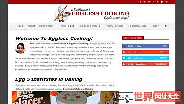 Eggless Cooking Recipes