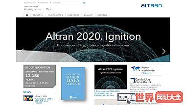 Altran集团全球创新和技术领先者