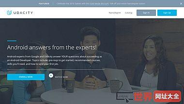 美国UdaCity免费在线大学教育平台