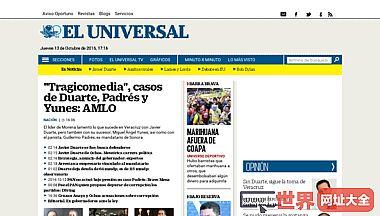 El Universal El periódico de México líder en noticias y