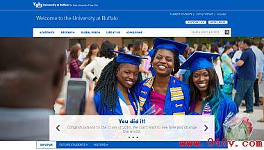美国布法罗大学官网