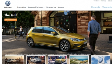 大众汽车网站
