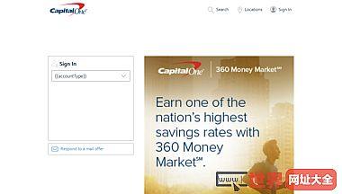 美国第一资本金融银行官网