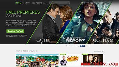 看你喜欢的电视节目和电影在线Hulu