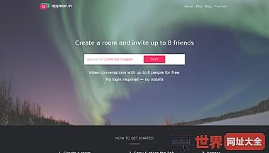 在线免费多人视频聊天平台