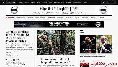 华盛顿邮报官网